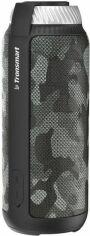 Акция на Портативная акустика Tronsmart Element T6 Portable Bluetooth Speaker (78874) Grey Camouflage от Територія твоєї техніки