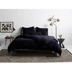 Акция на Комплект постельного белья Еней-Плюс МІ0025 чорный Двойной от Allo UA