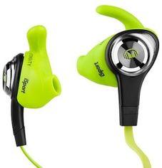 Акция на Monster iSport Intensity In-Ear Headphones Apple ControlTalk Intensity Green от Stylus