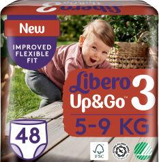 Акция на Подгузники-трусики Libero Up&Go 3 5-9 кг 48 шт (7322541165752) от Rozetka