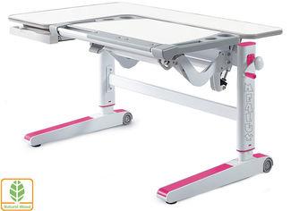 Акция на Детский стол Mealux Kingwood White Pn (BD-820 W/PN) от Y.UA
