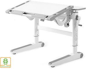 Акция на Детский стол Mealux Ergowood L (BD-810 W/G) от Y.UA