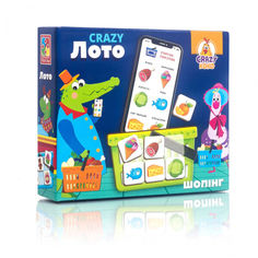 Акция на Игра настольная Crazy Лото VT8055 (Укр.) от Allo UA
