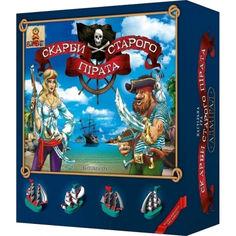 Акция на Настольная игра Сокровища старого пирата 800033 Bombat от Allo UA