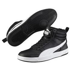 PUMA - Ботинки Puma Rebound Street v2 FUR – Puma Black-Puma White – 45 от Puma