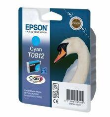 Картридж струйный EPSON StPhoto R270/R290/ cyan, 11мл (C13T11124A10) от MOYO