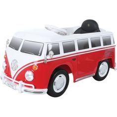 Акция на Микроавтобус Rollplay VW bus T2 12V RC, Red от Allo UA