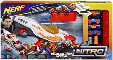 Акция на Игрушка Nerf Nitro Hasbro пусковая Даблбрейк (E0858) от Stylus