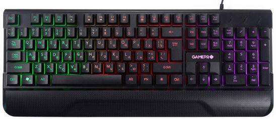 Акция на Клавиатура проводная GamePro Headshot GK398 USB от Rozetka