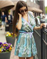 Акция на Платье ALVITA S-9051 42 Зеленое (4800013009306) от Rozetka