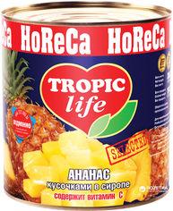 Акция на Ананас кусочками в сиропе Tropic Life 3100 мл (5060162900254) от Rozetka