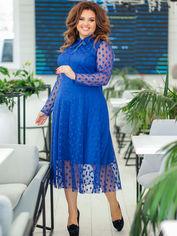 Акция на Платье New Fashion 106 56 Электрик (2000000488882) от Rozetka