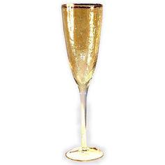 Акция на Бокал для шампанского 250мл Голд-Хаммерд Olens 9AF9084A золотистый от Podushka