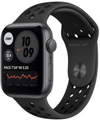 Apple Watch Nike Se 44mm GPS+LTE Space Gray Aluminum Case with Anthracite/Black Nike SportBand (MG063) от Stylus