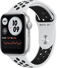 Акция на Apple Watch Nike Se 44mm Gps Silver Aluminum Case with Pure Platinum/Black Nike SportBand (MYYH2) от Stylus