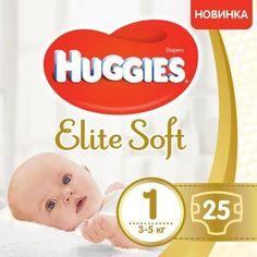 Акция на Huggies Elite Soft 1 Conv 25 от Stylus