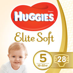Акция на Huggies Elite Soft 5 Jumbo 28 от Stylus
