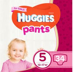Акция на Huggies Pant 5 (12-17 kg) Jumbo 34 Girl от Stylus