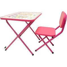 Акция на Детская парта OMMI Азбука Розовый от Allo UA