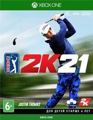 Акция на Игра PGA 2K21 (Xbox One, Русские субтитры) от MOYO