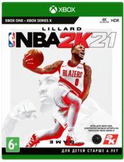 Акция на Игра NBA 2K21 (Xbox One, Английскийязык) от MOYO