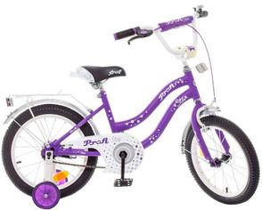 """Акция на Велосипед детский двухколесный Profi 18"""" Star Сиреневый (Y1893 lilac) от Rozetka"""