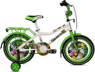 """Акция на Детский велосипед Ardis Thomas 16"""" 9"""" Бело-зеленый (0450) от Rozetka"""
