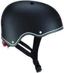 Акция на Шлем защитный детский Globber с фонариком 48-53 см (XS/S) Черный (505-120) (4897070184435) от Rozetka