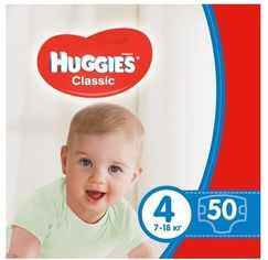 Акция на Huggies Classic 4 Jumbo 50 от Stylus