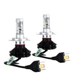 Комплект светодиодных LED ламп X3 H4 Набор Xenon от Allo UA