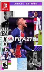 Акция на Игра FIFA 21 (Nintendo Switch, Русская версия) от MOYO