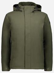 Акция на Лыжная куртка CMP Man Jacket Zip Hood 30K2897-F977 50 Oil Green (8051737718548) от Rozetka