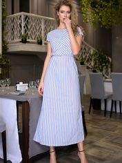 Акция на Платье DNKA с561 48 Голубое (2000000450322) от Rozetka