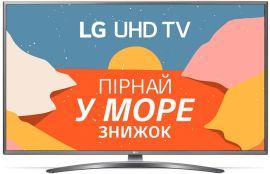 Акция на Телевизор LG 75UN81006LB от Rozetka