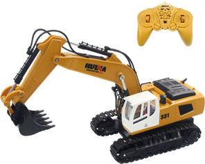 Акция на Экскаватор на радиоуправлении Huina Toys 9CH 1:18 (4820176246042) от Rozetka