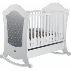 Акция на Детская кроватка Micuna Alexa Relax White-Silver, белый с серебристым (ALEXA RELAX) от Allo UA