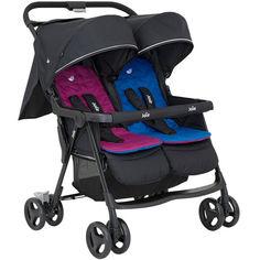 Акция на Детская коляска для двойни Joie Aire Twin Rosy & Sea (S1217AERNS000) от Allo UA