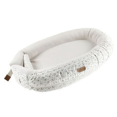 Акция на Кокон для новорожденного Voksi Baby Nest Premium White Flying (11008156-White-Flying) от Allo UA
