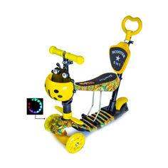 """Акция на Детский самокат Scooter 5in1 со светящими колесами """"Карусель"""" от Allo UA"""