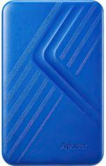 """Акция на Жесткий диск Apacer 2.5"""" USB 3.1 1TB AC236 Blue (AP1TBAC236U-1) от MOYO"""