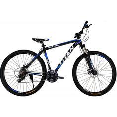 """Акция на Велосипед Titan Solar 29"""" 20"""" black-blue-white (29TWAL19-336) 2020 от Allo UA"""