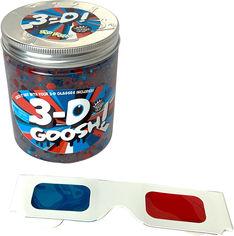 Акция на Лизун с 3D эффектом Compound Kings Slime 3-D Goosh с очками Красный-Белый-Голубой 425 г (300115-1) (760939630050) от Rozetka