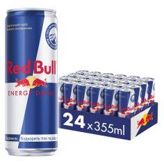 Акция на Упаковка энергетического напитка Red Bull 0.355 л х 24 банки (9002490206468) от Rozetka