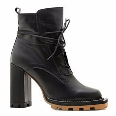Акция на Ботинки осенние на каблуке от PREGO