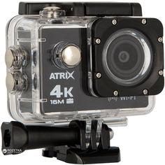 Акция на Видеокамера Atrix ProAction A30 4K Ultra HD Black (A30k4b) от Rozetka