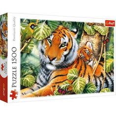 Акция на Пазл Trefl Два тигра,1500 элементов (26159) от Allo UA