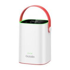 Акция на Автокомпрессор Gussdo Car air pump white от Allo UA