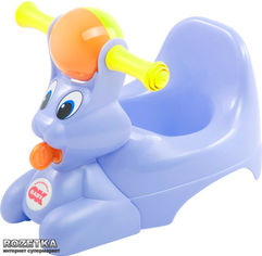 Акция на Детский горшок Ok Baby Spidy с музыкальной шкатулкой сиреневый (37825535) от Rozetka