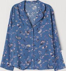 Акция на Рубашка пижамная H&M 0711681-9 L Синяя (2000001668474) от Rozetka