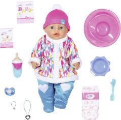Акция на Кукла Baby Born серии Нежные объятия Зимняя малышка 43 см с аксессуарами (831281) от Rozetka